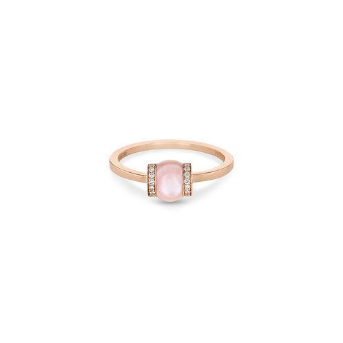 Single Cerith Ring - Pink Mother of Pearl