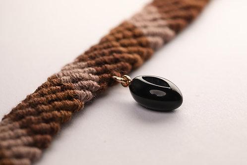 Onyx Thread Anklet/Bracelet