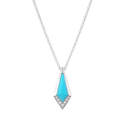 Junonia Pendant - Turquoise