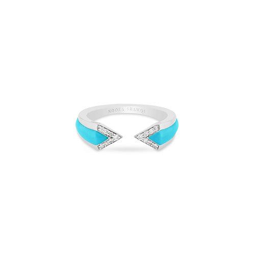 Junonia Ring - Turquoise