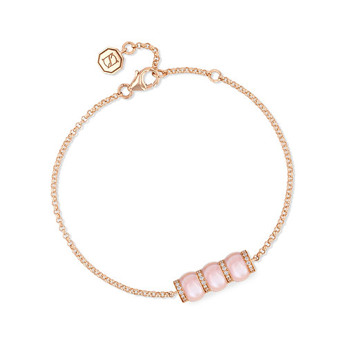 Cerith Bracelet - Pink Mother of Pearl
