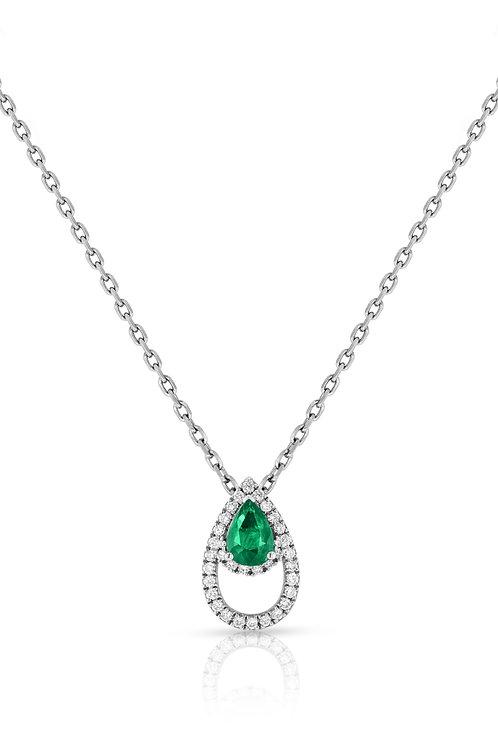 Lanka Pendant - Emerald