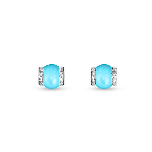 Cerith Studs - Turquoise