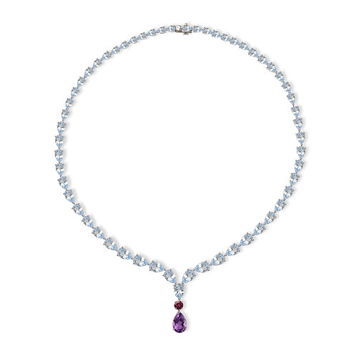 Ceylon Raindrops Necklace