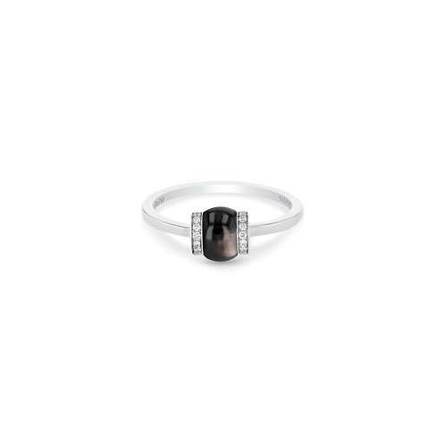 Single Cerith Ring - Black Mother of Pearl