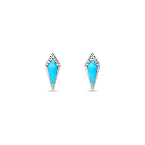 Junonia Stud - Turquoise