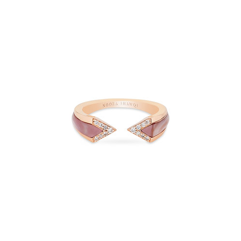 Junonia Ring - Pink Mother of Pearl