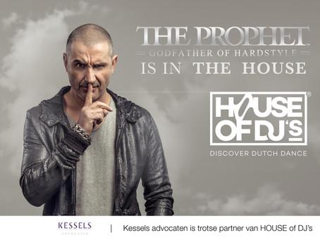 Kessels advocaten is trotse partner van HOUSE of DJ's