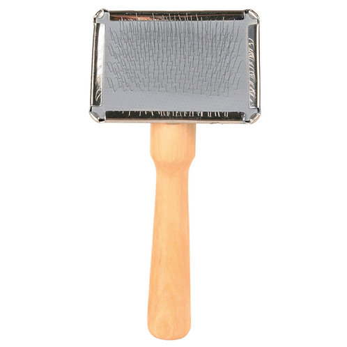Trixie Soft Brush with Brush Cleaner small