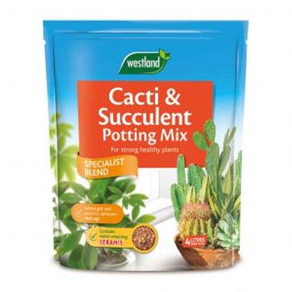 Cacti & Succulent potting Mix 4ltr