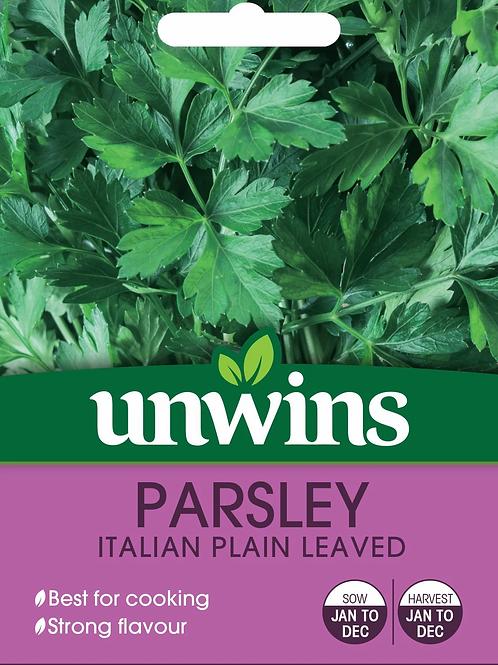 Unwins Parsley Italian Plain Leaved
