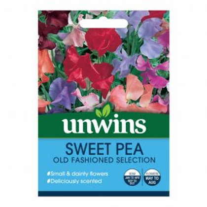Unwins Sweet Pea Old Fashioned Mix