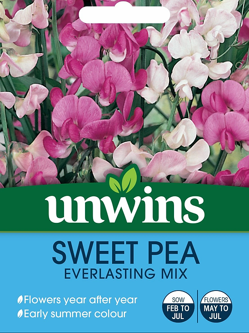 Unwins Sweet Pea Everlasting Mix