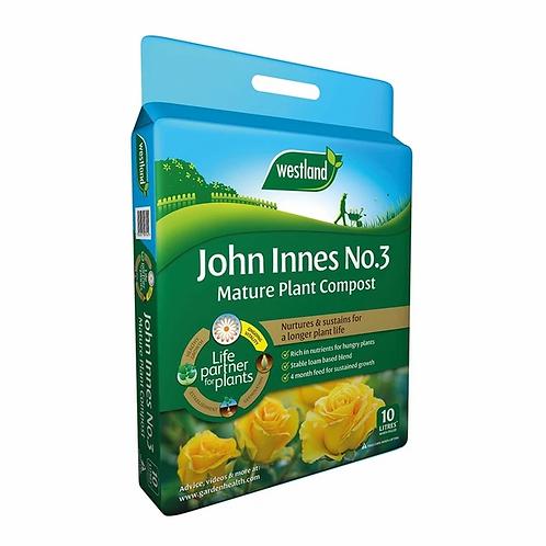 John Innes No.3 Mature Plant Compost 10ltr