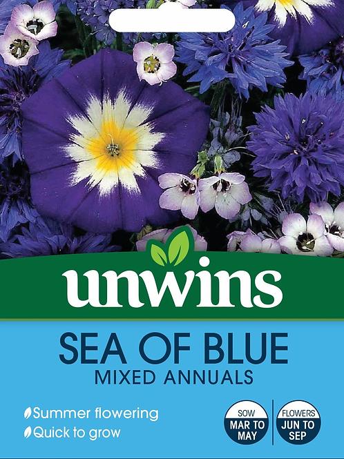 Unwins Sea of Blue Mixed Annuals