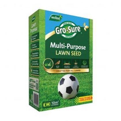 Westland Gro Sure Multi Purpose Lawn Seed 10m2 + 30% extra