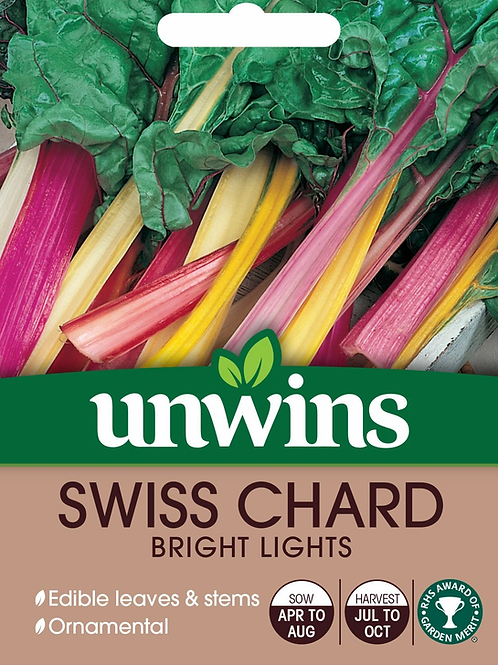 Unwins Swiss Chard Bright Lights