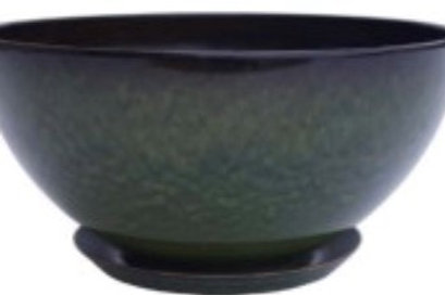 Bowl Poly Glaze Planter