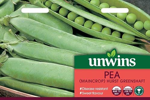 Unwins Pea (Maincrop) Hurst Greenshaft