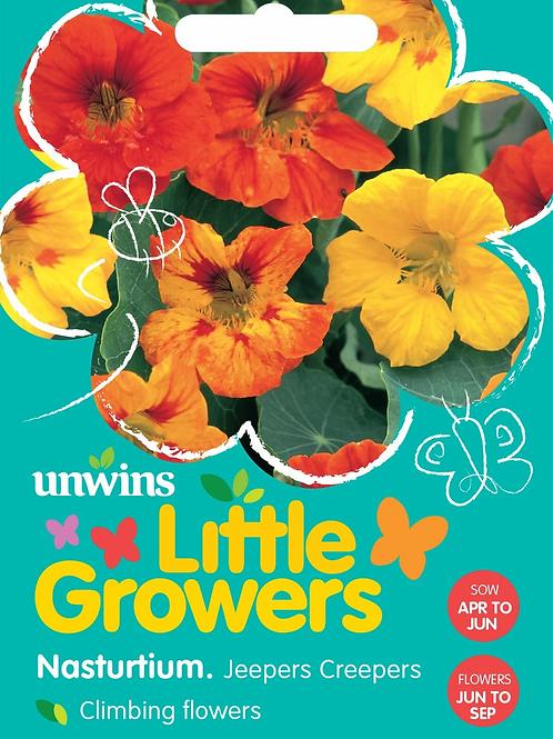 Unwins Little Growers Nasturtium Jeepers Creepers