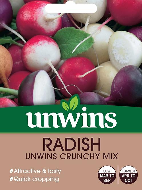 Unwins Radish Crunchy Mix