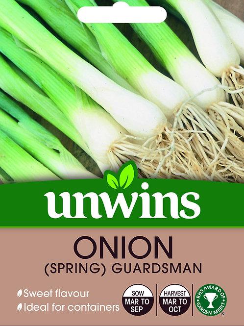 Unwins Onion (Spring) Guardsman