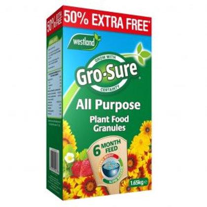 Westland Gro-Sure Slow Release Plant Food 1.1kg + 50% free