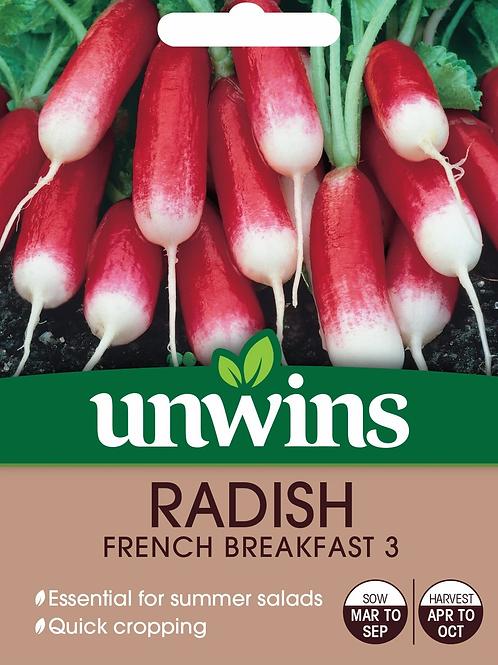 Unwins Radish French Breakfast 3