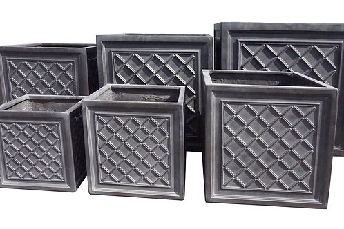 Trellis Cube Planter