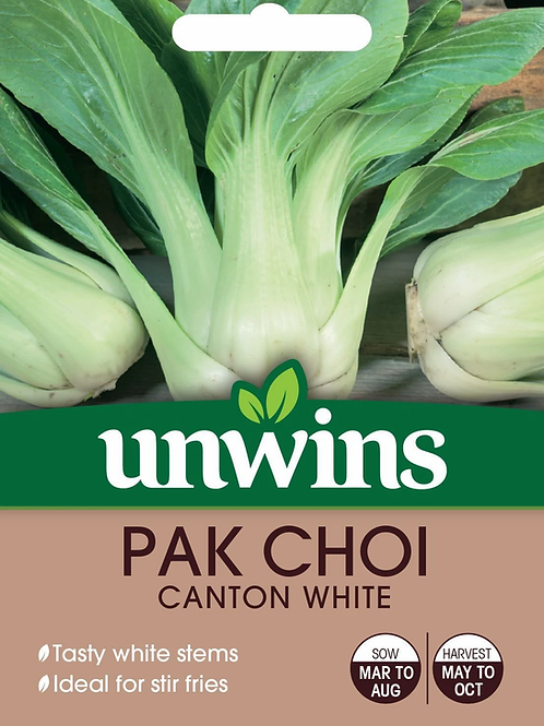 Unwins Pak Choi Canton White