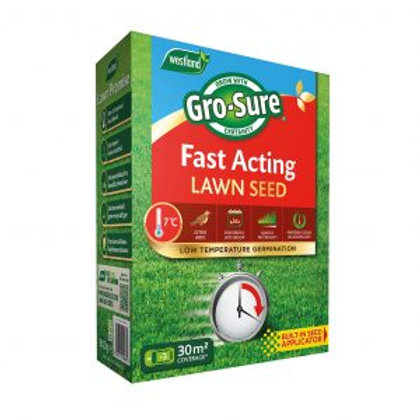 Westland Gro Sure Fast Acting Lawn seed 30m2