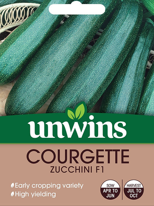 Unwins Courgette Zucchini F1
