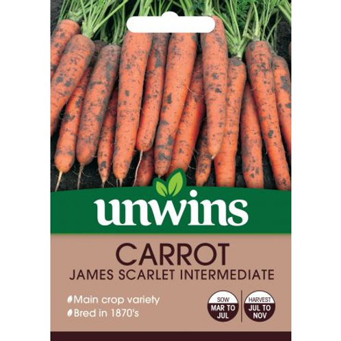 Unwins Carrot James Scarlet Intermediate