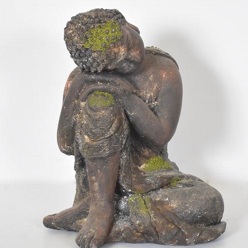 BUDDAH SLEEPING GARDEN ORNAMENT