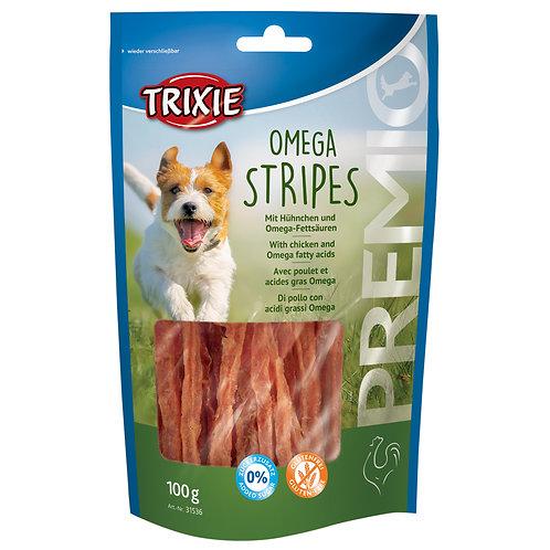 Trixie Premio Omega Stripes Chicken Dog Treats