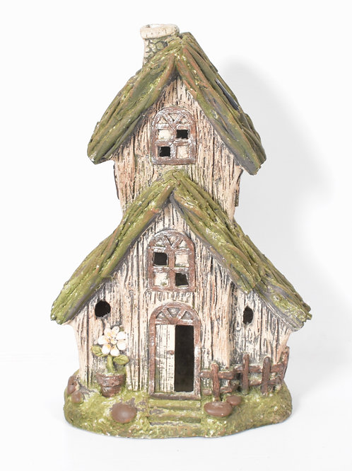 FAIRY-HOUSE TWO STOREY ORNAMENT