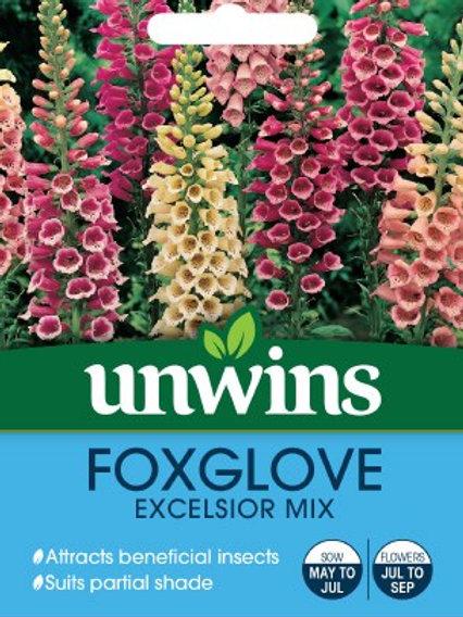 Unwins Foxglove Excelsior Mix