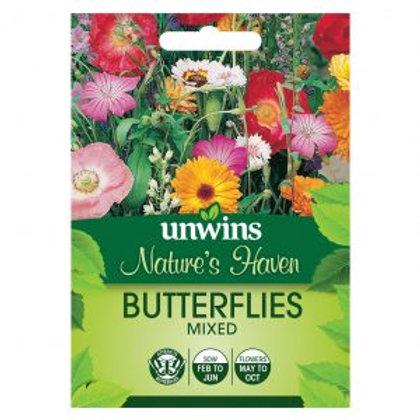 Unwins Natures Haven Butterflies mixed