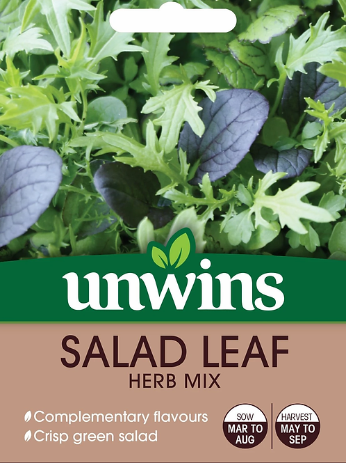 Unwins Salad Leaf Herb Mix