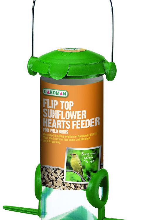 Gardman Flip Top Sunflower Hearts