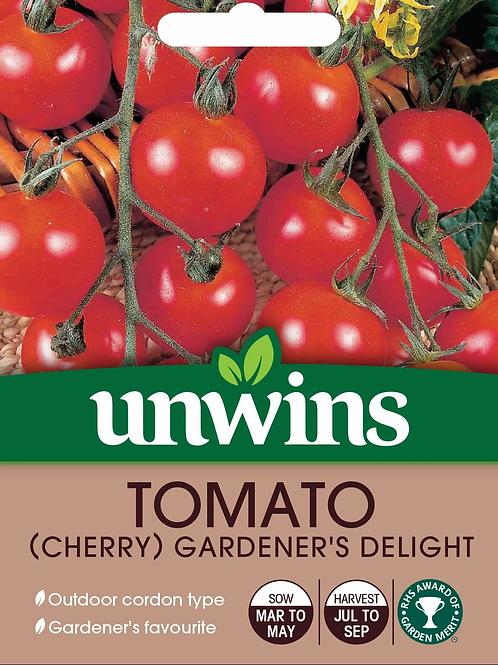 Unwins Tomato (Cherry) Gardeners Delight