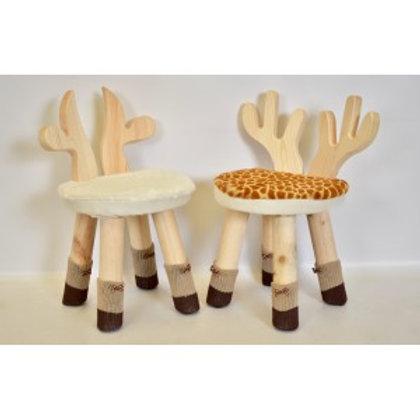 Kiddo's Animal Wooden Stool