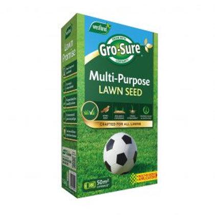 Gro-Sure Multi-Purpose Lawn Seed 50sqm Box