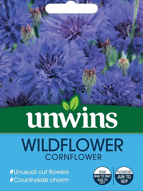 Unwins Wild Flower Cornflower