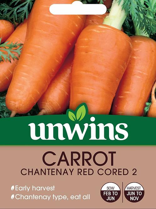 Unwins Carrot Chantenay Red Cored 2