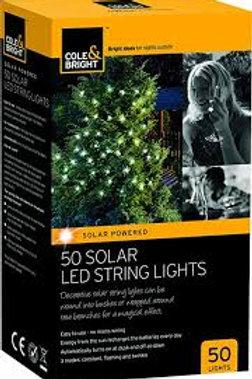 Cole & Bright Solar led String Lights