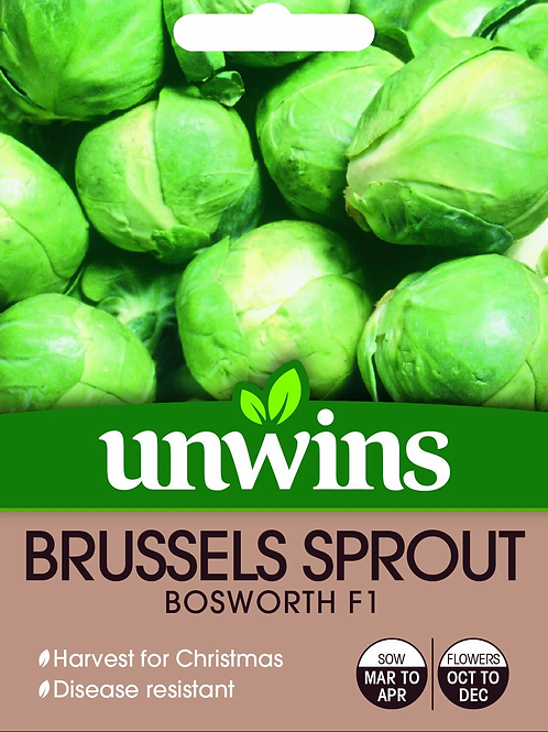 Unwins Brussel Sprouts Bosworth