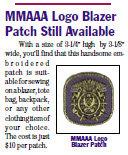 MMAAA Logo Blazer Patch
