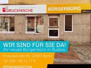 Neues Bürgerbüro in Rudow