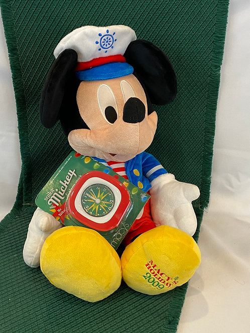 Sailor Mickey Mouse Stuffed Animal